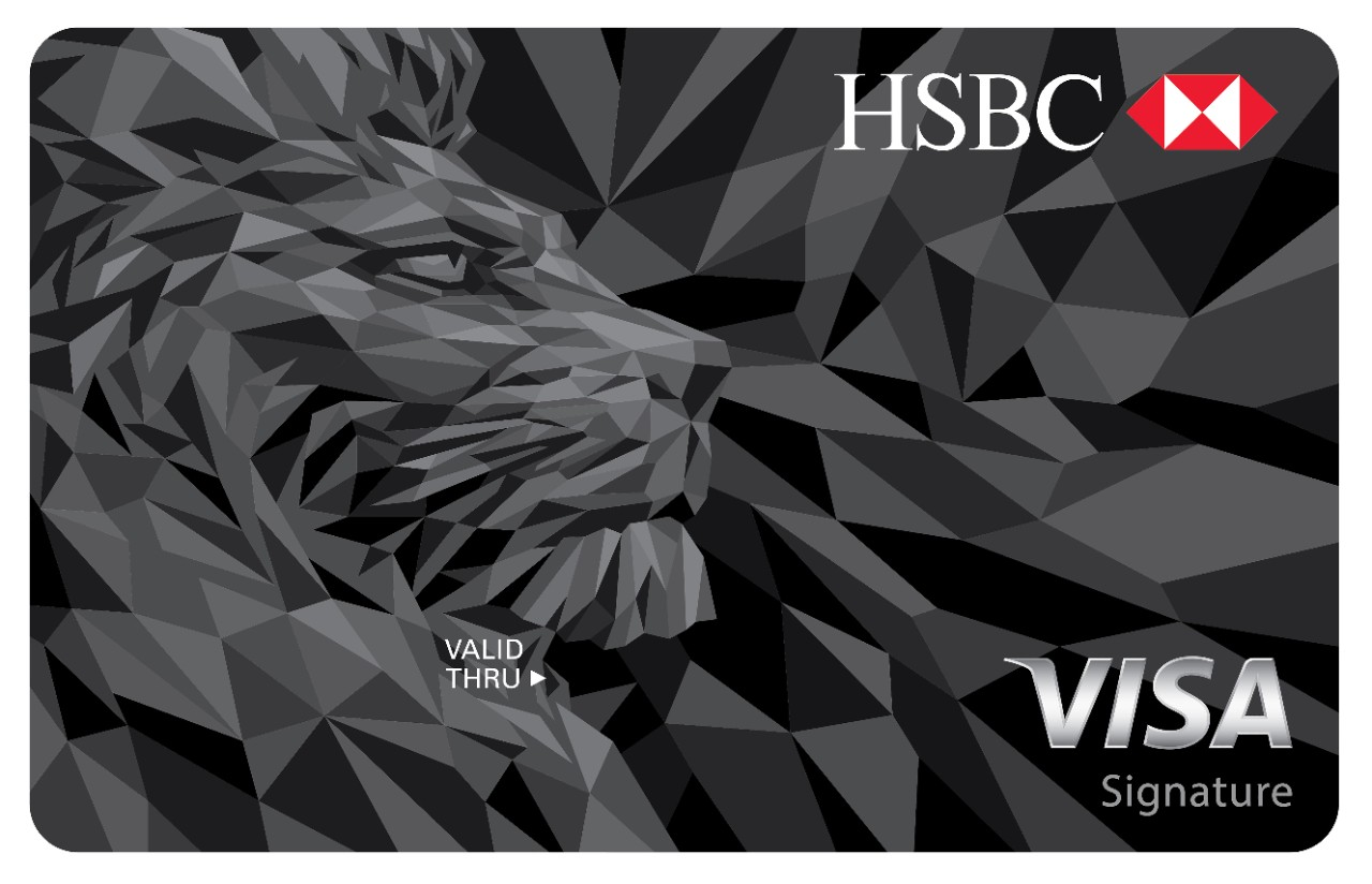 Product image of HSBC visa signature card
