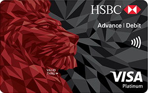 HSBC Advance Visa Debit Card