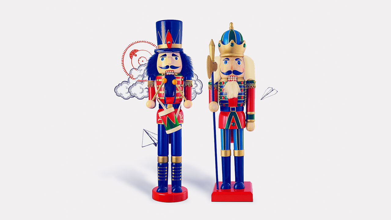 two nutcrackers; image used for HSBC LK Premier member get member page